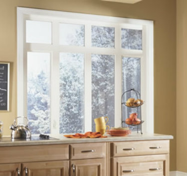 casement and awning windows