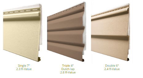 Insulated Vinyl Siding Options Stockmohr