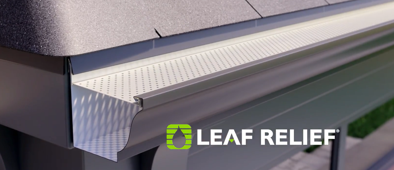 Leaf Relief Gutter Installation