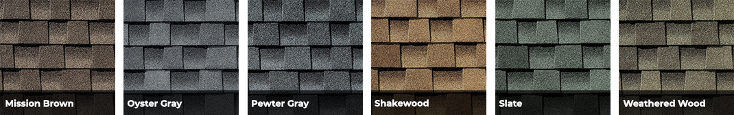 Timberline HDZ Shingle Colors